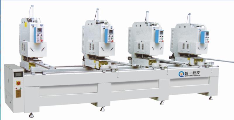 JDX-4-5000高档彩塑门窗四位(三位/二位)焊接机